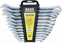 Набор комбинированных ключей 12 элементов 10-32мм Bass Polska7160