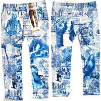 Леггинсы - Капри под джинс бесшовные модель№10