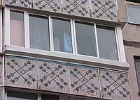 Балконная раздвижная рама (холодная)
