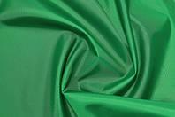 Зеленая плащевка Оксфорд плотность 110 г/м2, тентовая палаточная ткань
