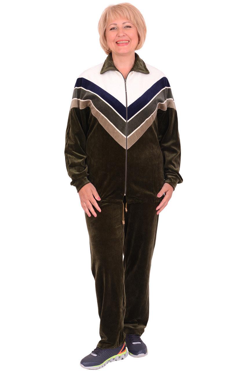 d71c0a14 Женский велюровый спортивный костюм (размеры 52, 60): продажа, цена ...