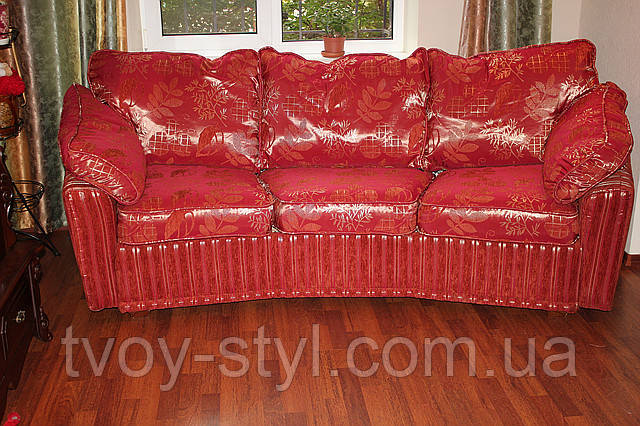 Перетяжка дивана днепропетровск качественно
