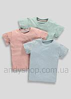 Детские футболки для мальчиков 3в1 MATALAN | Англия