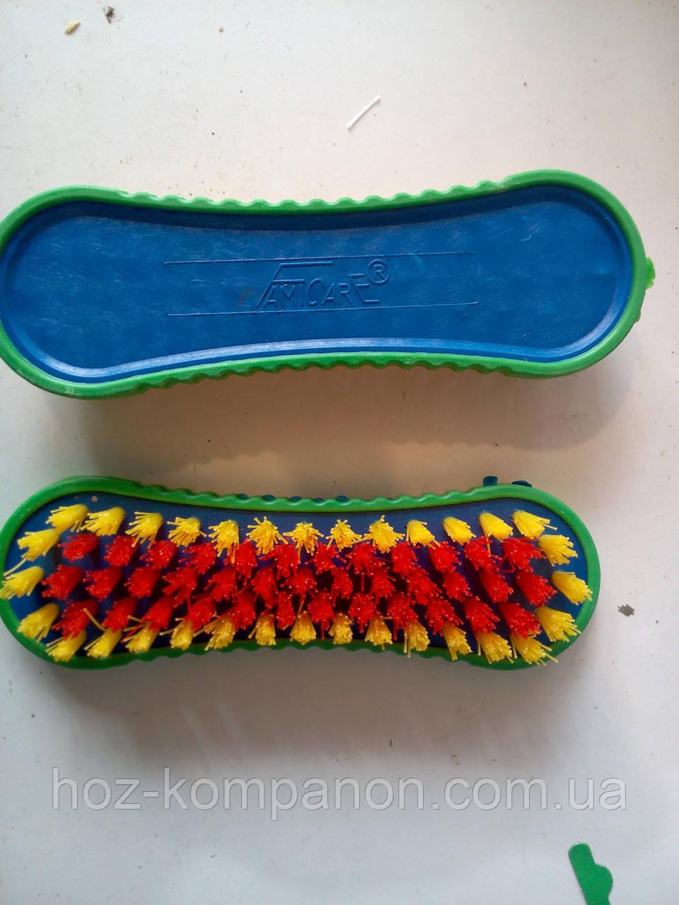 Щетка обувь пластмас 14см