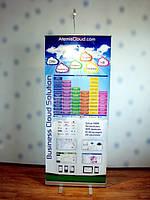 Мобильные выставочные стенды Roll-up, ролл-ап, X-баннер, x-banner, промостол, ресепшн (1)