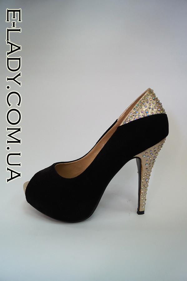 Черные замшевые туфли на платформе и шпильке   продажа, цена в ... af9fea7957b