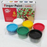 Краски пальчиковые JO 6 цветов х 35мл. RFC0635