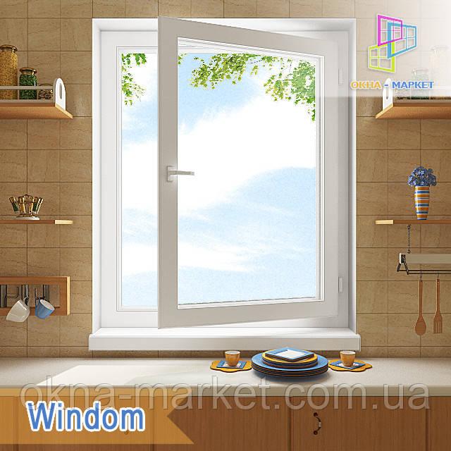 Цена одностворчатого окна Windom