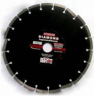 Алмазный диск 350мм для резки асфальта, бетона, тротуарной плитки, брусчатки