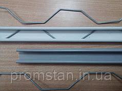 Профиль для крепления пленки зигзаг, 0.70 мм
