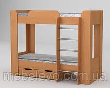 кровать двухъярусная Твикс-2 1522х908х1974мм  70х190  Компанит, фото 2