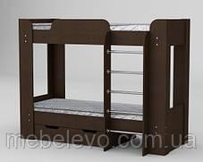 кровать двухъярусная Твикс-2 1522х908х1974мм  70х190  Компанит, фото 3