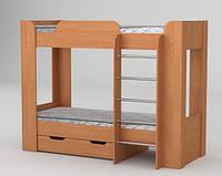 Компанит  кровать двухярусная Твикс-2 ольха 1522х908х1974мм
