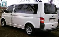 Вырезка металла и установка стекла Volkswagen Transporter T5