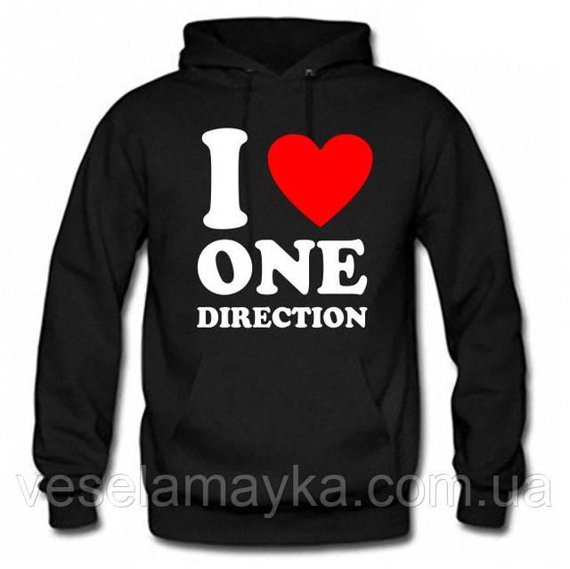 "Толстовка ""I love One Direction (1D)"""