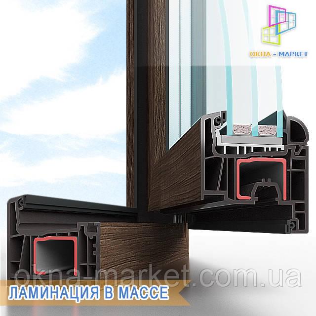 Цветные окна ― ламинация в массе