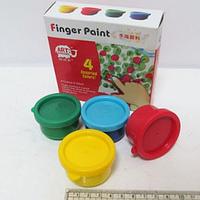 Краски пальчиковые JO 4 цвета х 35мл. RFC0435