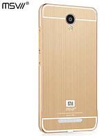 Чехол бампер алюминиевая рамка MSVII для Xiaomi Redmi Note 2