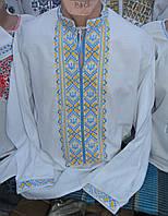 """Чоловіча вишивана сорочка """"Тризуб"""""""