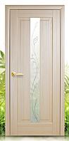 Межкомнатная дверь Премьера со стеклом рисункок Р-2