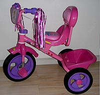 Велосипед TILLY COMBI TRIKE BT-CT-0008 PINK, розовый велосипед для девочки