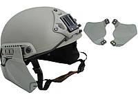 Боковая защита для шлемов OPS-CORE Зеленый