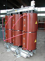Трансформатор сухой ТСЛ-100 (ТСЗ-100 IP00) с литой эпоксидной изоляцией силовой