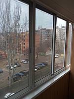Балконная раздвижная пластиковая рама SWS (тёплая)