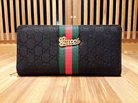 Кошелек-клатч Gucci черный