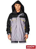Осенне-зимняя куртка с отстегивающейся подстежкой из флиса WIN-GREY SY