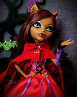 Кукла Монстер Хай Клодин Вульф Страшные Сказки Monster High Scary Tales Scarily Ever After Doll Little Dead Ri