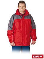 Зимняя куртка рабочая с водонепроницаемой пропиткой Reis Польша (утепленная спецодежда) WIN-RED CS