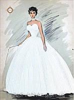 """Схема для вышивки бисером """"Хрустальная невеста"""""""