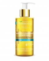Средство для умывания и очищения кожи с  аргановым маслом и гиалуроновой кислотой Argan Face Oil Bielenda