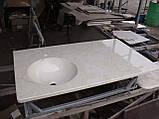 Умивальник з каменю зі стільницею (литий умивальник +2700грн./шт. додатково), фото 2