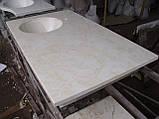 Умивальник з каменю зі стільницею (литий умивальник +2700грн./шт. додатково), фото 3