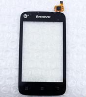 Оригинальный тачскрин / сенсор (сенсорное стекло) для Lenovo A278 | A278t (черный цвет)