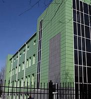 Кассетные фасады металлические
