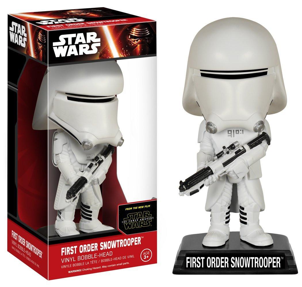 Сноутрупер штурмовик Звездные войны 7 Пробуждение силы / First Order Snowtrooper Star Wars 7 FunKo