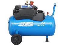 Компрессор безмасляный, объем ресивера 24л, 230В/50Гц,180л/мин,8бар,1.1 кВт,20кг ABAC Pole Position 015.