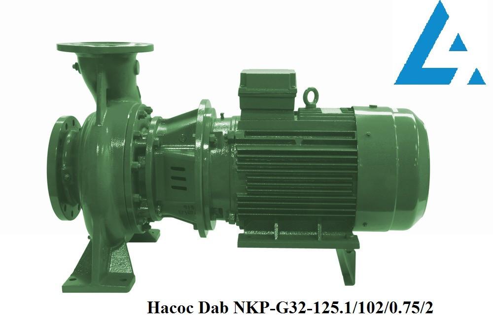 Dab NKP-G32-125.1/102/0.75/2 насос