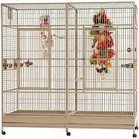 Montana Arkansas II - Large Parrot Cage  ОЧЕНЬ ПРОСТОРНАЯ Клетка для Больших Попугаев