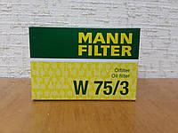 Фильтр масляный Рено Логан 2004-->2013 Mann (Германия) W 75/3