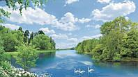 Фотообои   на стену пейзаж Утренняя песня размер 196 х 350 см