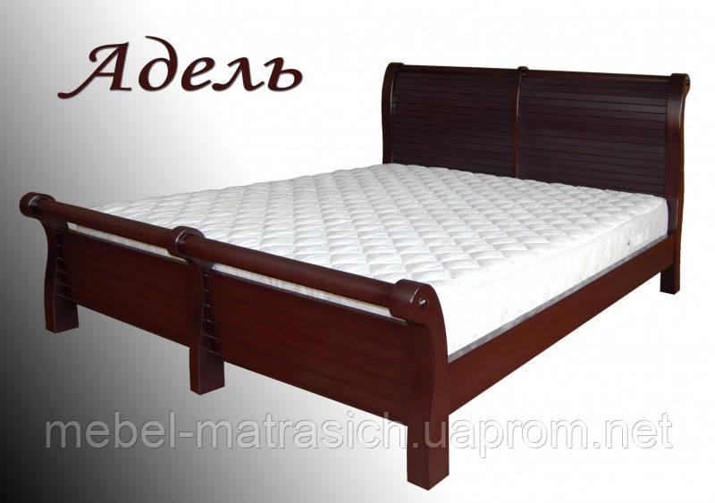 Ліжко дерев'яне «Адель»
