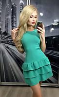 """Платье """"Мисс"""", бирюзовое"""