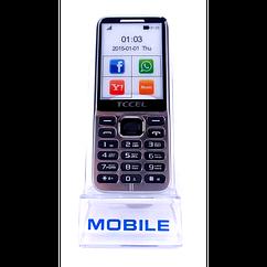 Мобильный телефон TCCEL 360 кнопочный телефон 2 SIM