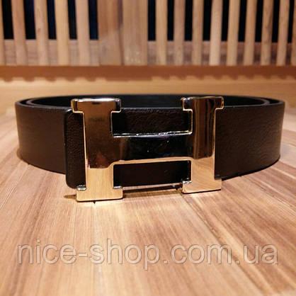 Ремень Hermes коричневый, фото 2