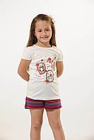 Комплект для девочки с шортами Ozkan