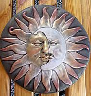 Панно Солнце и месяц  37 см, фото 1